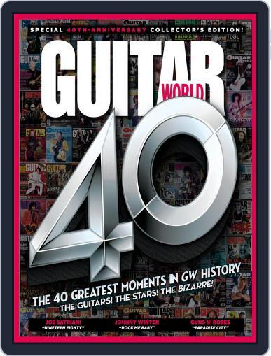 Guitar World (Digital) November 1st, 2020 Issue Cover