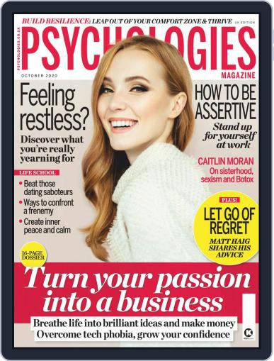 Psychologies (Digital) October 1st, 2020 Issue Cover