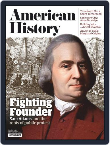 American History October 1st, 2020 Digital Back Issue Cover