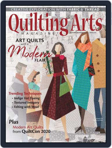 Quilting Arts (Digital) October 1st, 2020 Issue Cover