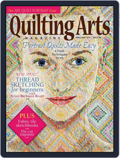 Quilting Arts March 12th, 2014 Digital Back Issue Cover