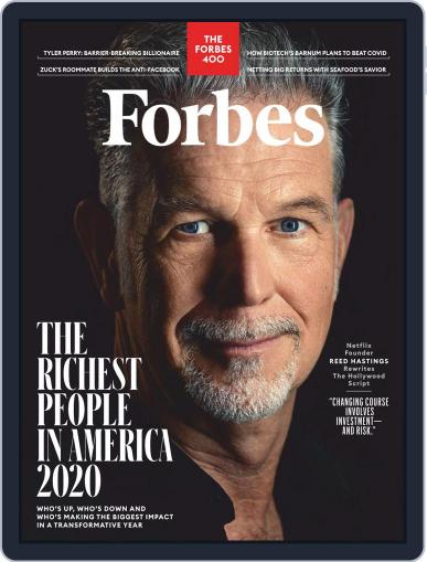 Forbes October 1st, 2020 Digital Back Issue Cover