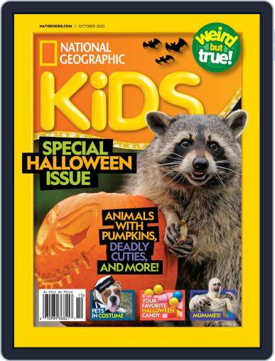 National Geographic Kids (Digital) October 1st, 2020 Issue Cover