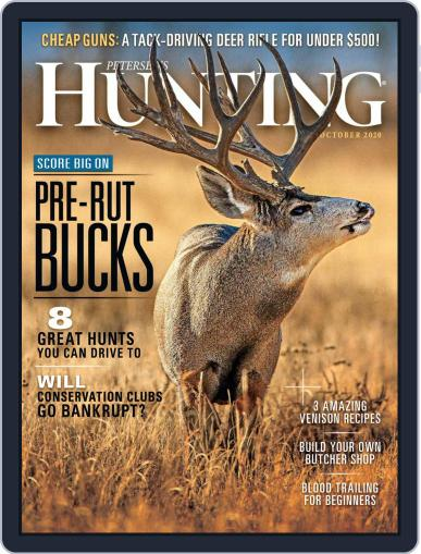 Petersen's Hunting October 1st, 2020 Digital Back Issue Cover