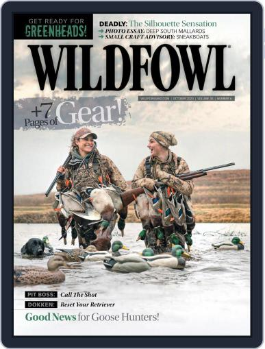 Wildfowl October 1st, 2020 Digital Back Issue Cover