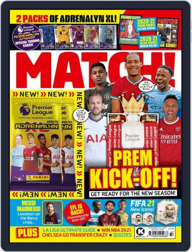 MATCH! (Digital) September 8th, 2020 Issue Cover