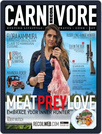 RECOIL Presents: Carnivore August 27th, 2019 Digital Back Issue Cover