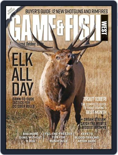 Game & Fish West (Digital) October 1st, 2020 Issue Cover
