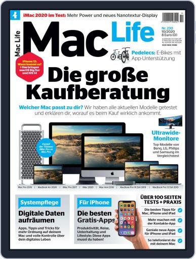MacLife Germany October 1st, 2020 Digital Back Issue Cover