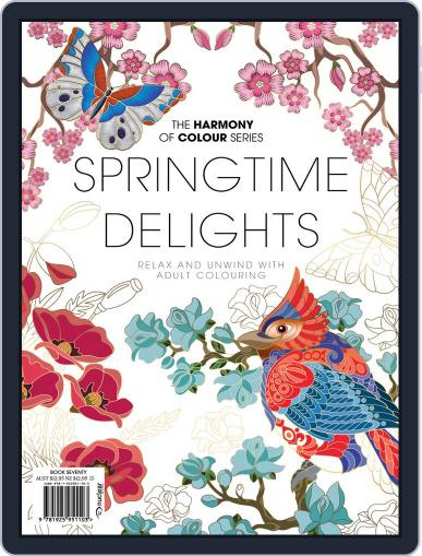 Colouring Book: Springtime Delights September 8th, 2020 Digital Back Issue Cover