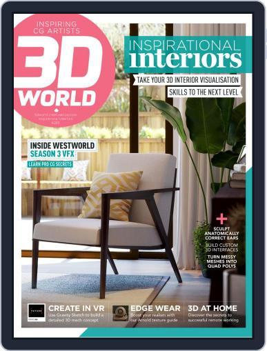 3D World November 1st, 2020 Digital Back Issue Cover