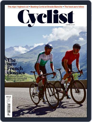 Cyclist (Digital) October 1st, 2020 Issue Cover