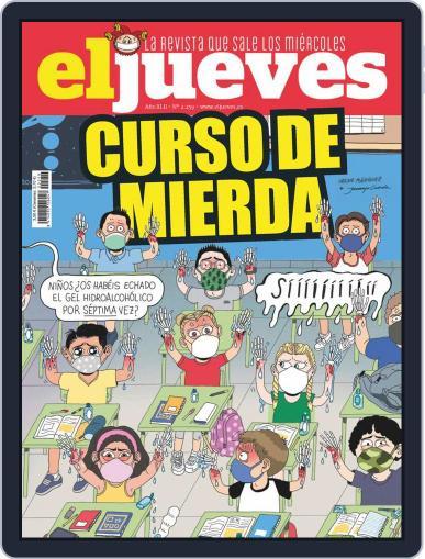El Jueves (Digital) September 8th, 2020 Issue Cover