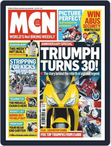 MCN September 9th, 2020 Digital Back Issue Cover