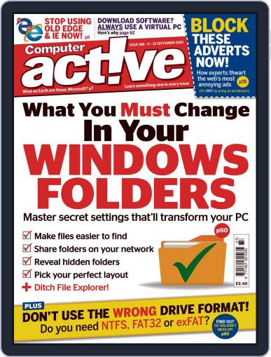Computeractive September 2nd, 2020 Digital Back Issue Cover