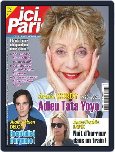 Ici Paris September 9th, 2020 Digital Back Issue Cover