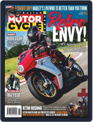 Australian Motorcycle News (Digital) September 10th, 2020 Issue Cover