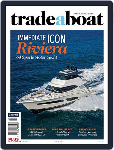 Trade-A-Boat September 1st, 2020 Digital Back Issue Cover