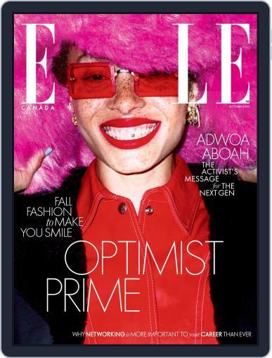 Elle Canada October 1st, 2020 Digital Back Issue Cover