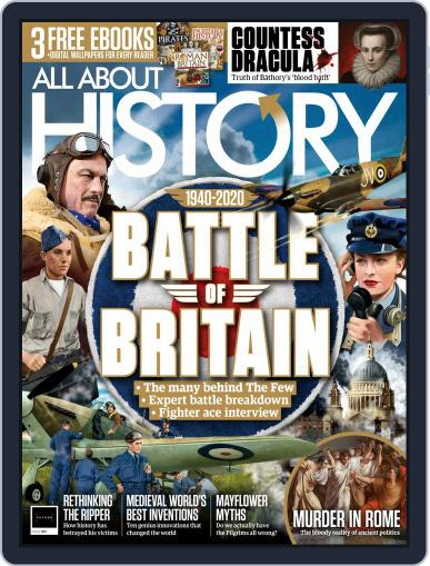 All About History (Digital) October 1st, 2020 Issue Cover
