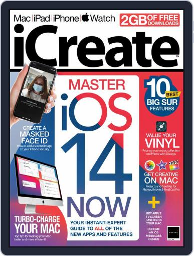 iCreate October 1st, 2020 Digital Back Issue Cover