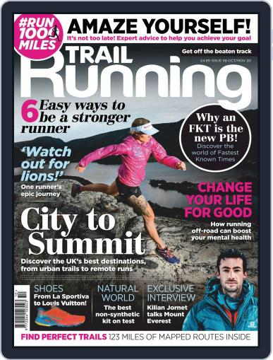 Trail Running October 1st, 2020 Digital Back Issue Cover