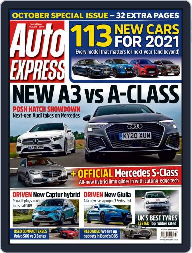 Auto Express September 9th, 2020 Digital Back Issue Cover