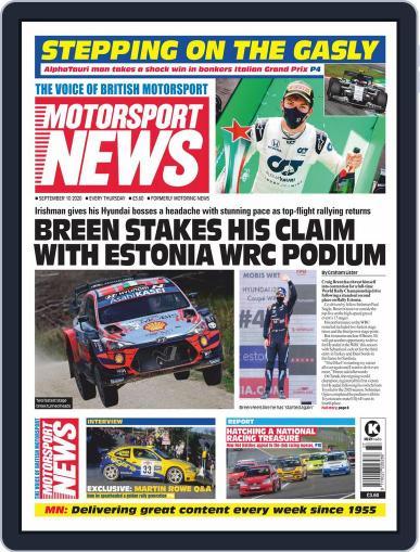 Motorsport News September 10th, 2020 Digital Back Issue Cover