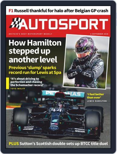 Autosport September 3rd, 2020 Digital Back Issue Cover