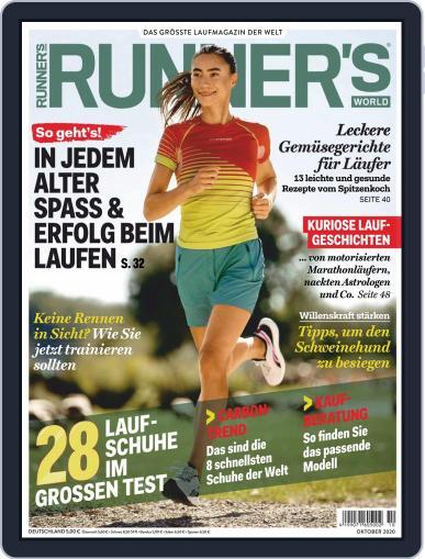 Runner's World Deutschland October 1st, 2020 Digital Back Issue Cover