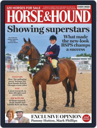 Horse & Hound September 10th, 2020 Digital Back Issue Cover