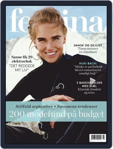 femina Denmark September 10th, 2020 Digital Back Issue Cover