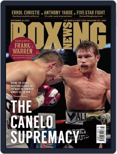 Boxing News (Digital) September 10th, 2020 Issue Cover