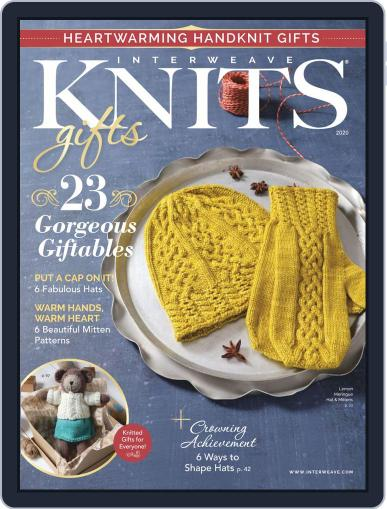 Interweave Knits August 27th, 2020 Digital Back Issue Cover