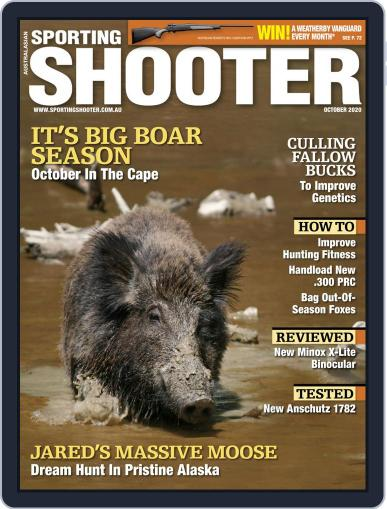 Sporting Shooter October 1st, 2020 Digital Back Issue Cover