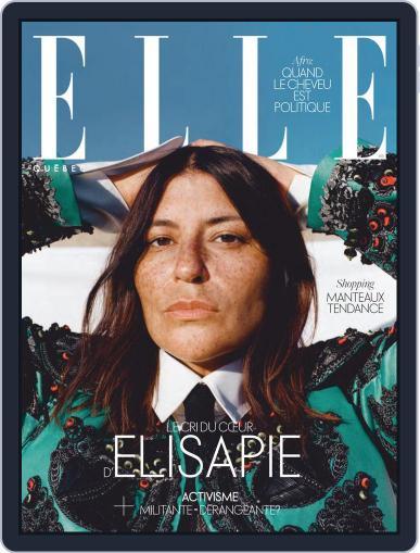 Elle QuÉbec October 1st, 2020 Digital Back Issue Cover