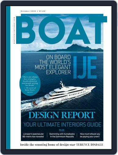 Boat International October 1st, 2020 Digital Back Issue Cover