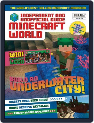 Minecraft World September 3rd, 2020 Digital Back Issue Cover