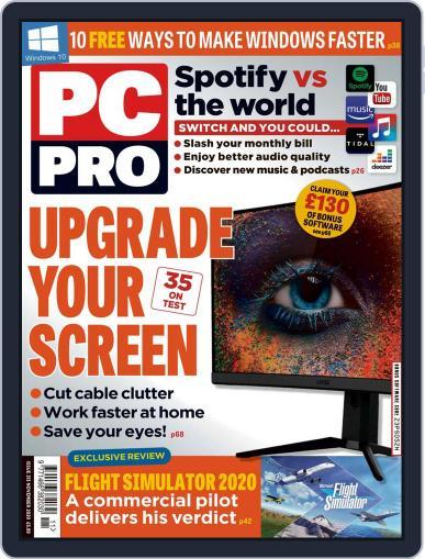 PC Pro November 1st, 2020 Digital Back Issue Cover