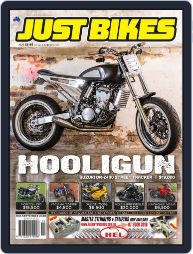 Just Bikes September 10th, 2020 Digital Back Issue Cover