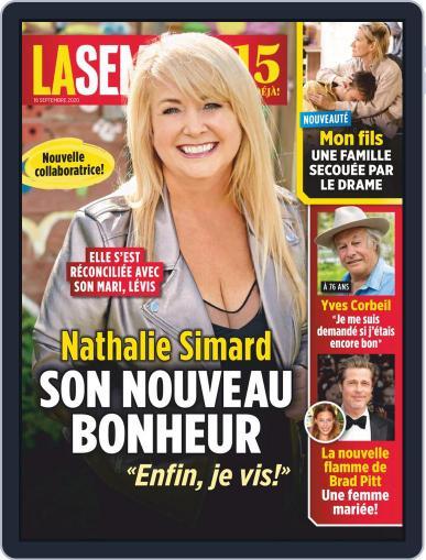 La Semaine September 18th, 2020 Digital Back Issue Cover