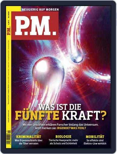 P.M. Magazin October 1st, 2020 Digital Back Issue Cover