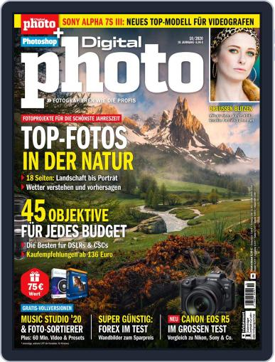 DigitalPhoto October 1st, 2020 Digital Back Issue Cover