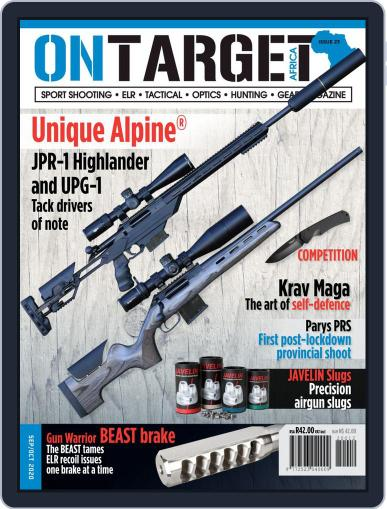 On Target Africa September 1st, 2020 Digital Back Issue Cover
