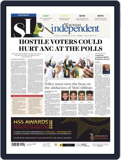 Sunday Independent Magazine (Digital) October 24th, 2021 Issue Cover