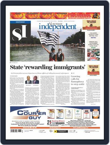 Sunday Independent (Digital) August 30th, 2020 Issue Cover