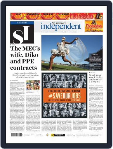 Sunday Independent (Digital) July 26th, 2020 Issue Cover