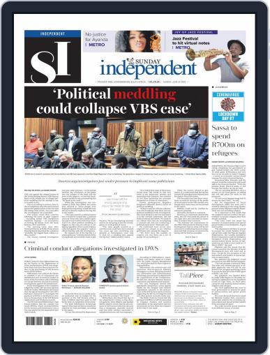 Sunday Independent June 21st, 2020 Digital Back Issue Cover
