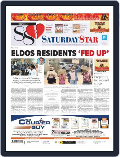Saturday Star August 29th, 2020 Digital Back Issue Cover