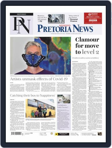 Pretoria News Weekend August 15th, 2020 Digital Back Issue Cover